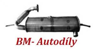 Filtr pevných částic DPF Smart Fortwo Coupe 0.8 CDi ( A4514901081, A4514901781, A4514900681, A4514901181 )